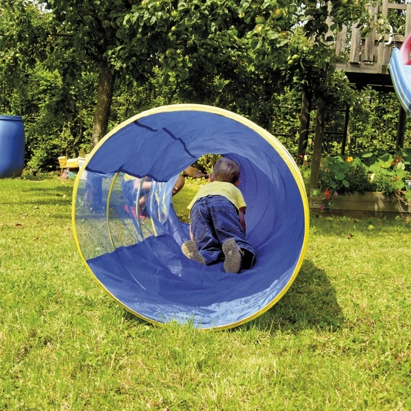 Kriechtunnel - Blau - Länge: 295 cm 2