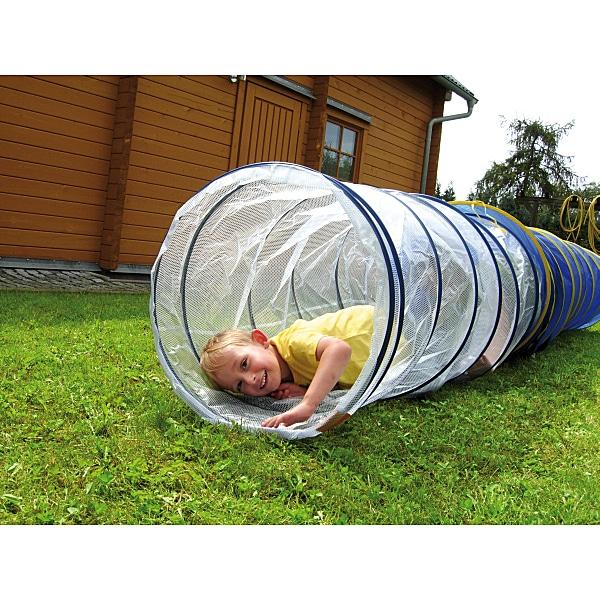 Kriechtunnel - transparent - Länge: 155 cm 1