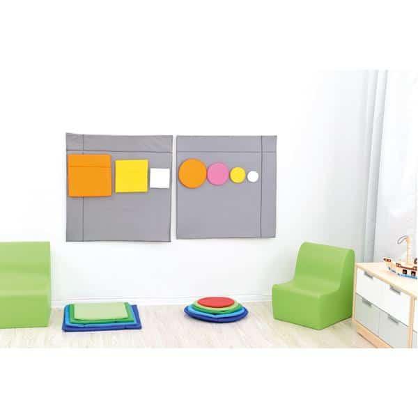 Wandbehang Formen - Quadrate 1