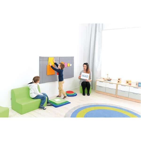 Wandbehang Formen - Quadrate 3