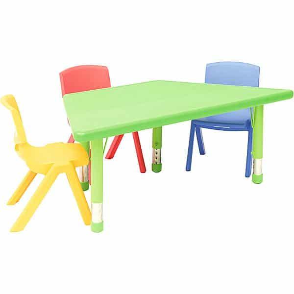 Kindergarten-Tisch Felix (trapezförmig) 5