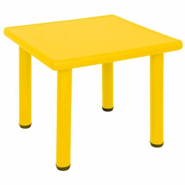 Kindergarten-Tisch Felix (quadratisch) 3