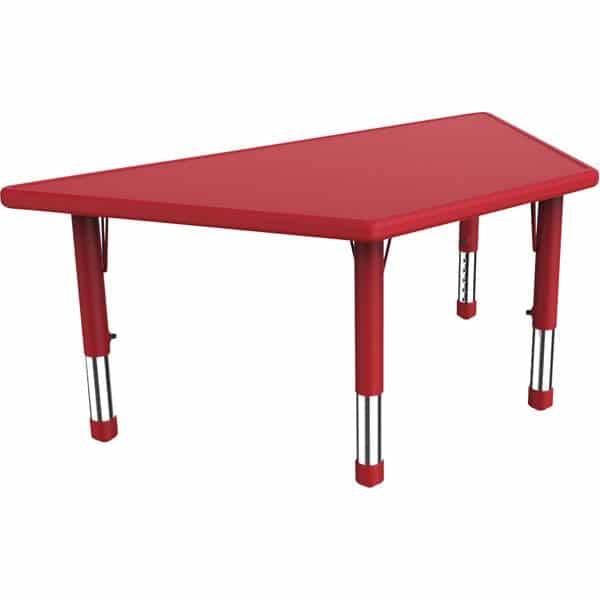 Kindergarten-Tisch Felix (trapezförmig) 4