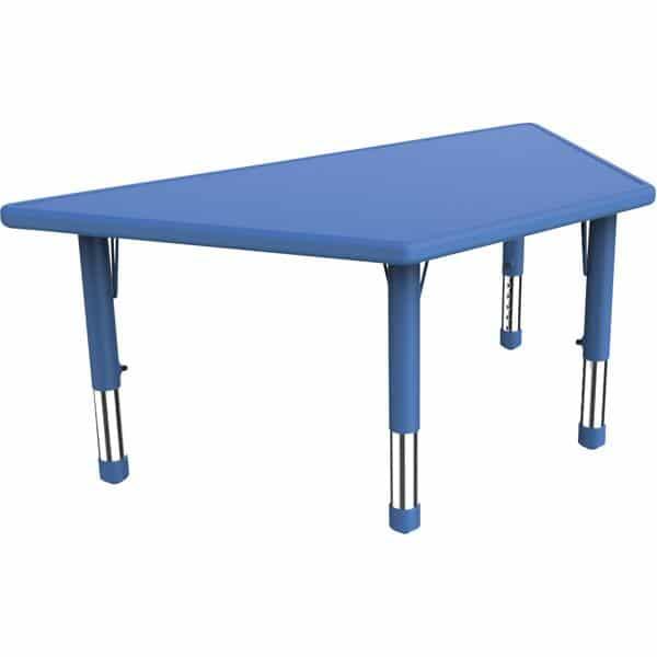 Kindergarten-Tisch Felix (trapezförmig) 2