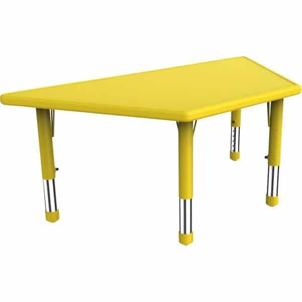 Kindergarten-Tisch Felix (trapezförmig) 1
