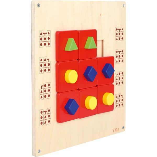 Wandschiebespiel - Geometrische Formen 2