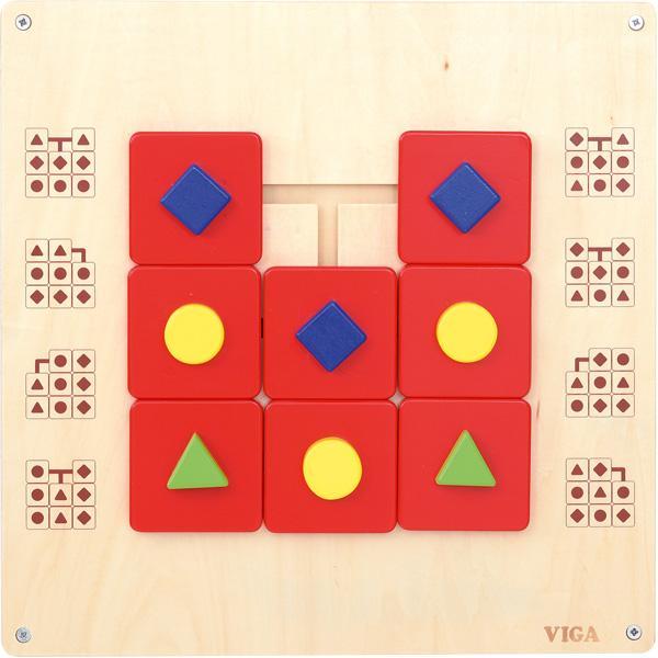 Wandschiebespiel - Geometrische Formen 1