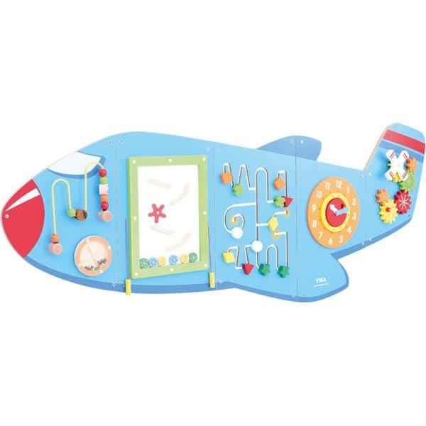 Wandapplikation - Flugzeug mit 6 Spielen 1