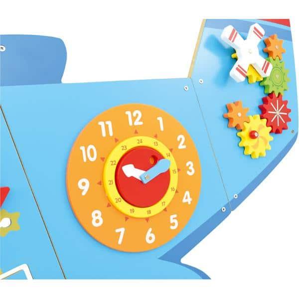 Wandapplikation - Flugzeug mit 6 Spielen 3