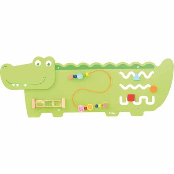 Wandapplikation - Krokodil mit 3 Spielen 1