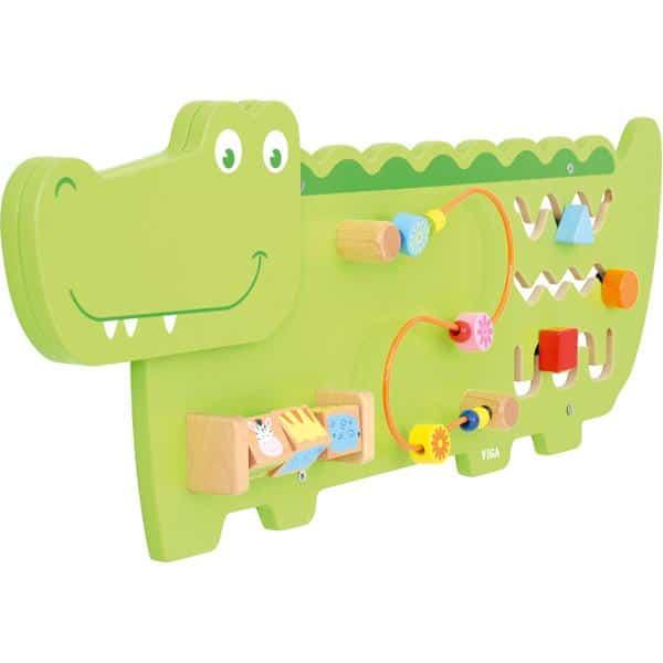 Wandapplikation - Krokodil mit 3 Spielen 2