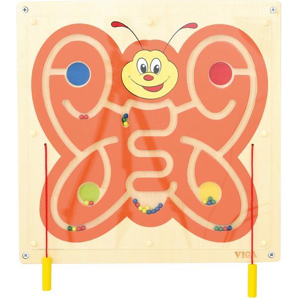 Wandapplikation - Schmetterling mit Magnetlabyrinth 1