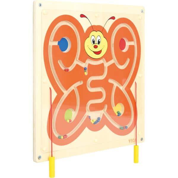 Wandapplikation - Schmetterling mit Magnetlabyrinth 2