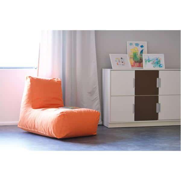 Kindergarten-Lümmelsessel orange 2