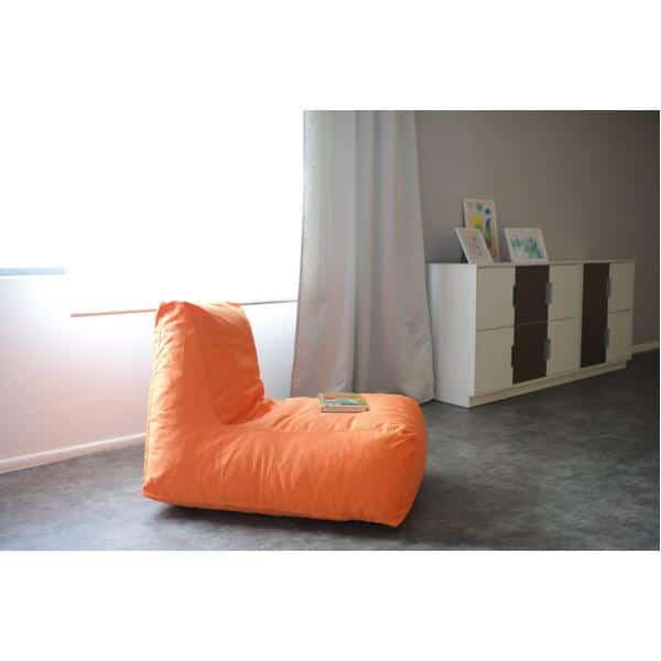 Kindergarten-Lümmelsessel orange 3