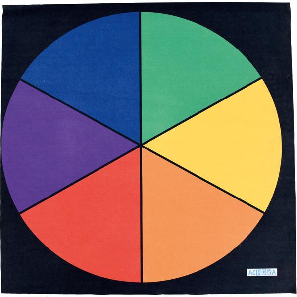 Bodenspielmatte - Farbkreis 1
