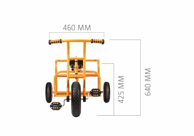 TopTrike Dreirad Doppeltaxi 4