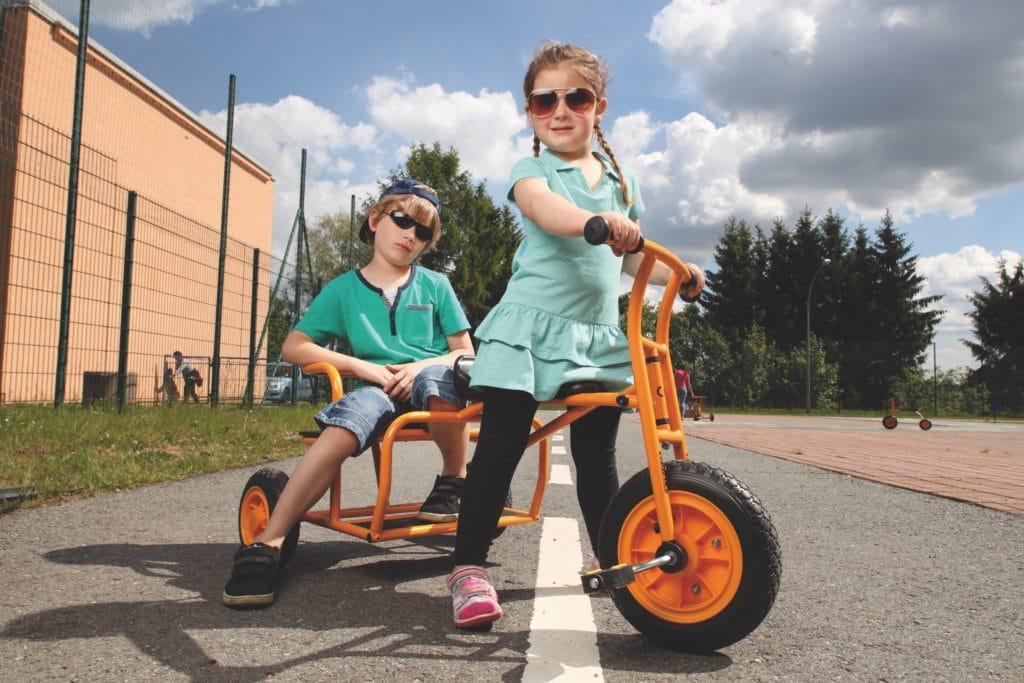TopTrike Dreirad Doppeltaxi 5