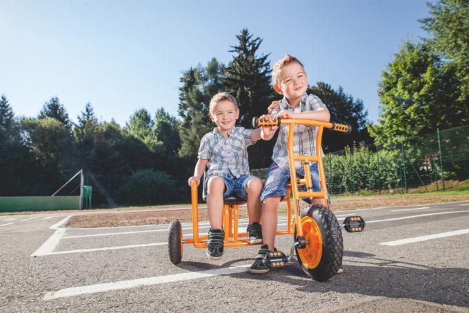 TopTrike Dreirad Seitenwagen 3