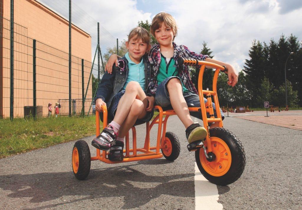 TopTrike Dreirad Seitenwagen 11