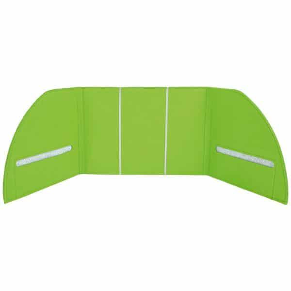 Akustik-Tischpaneel - grün 1