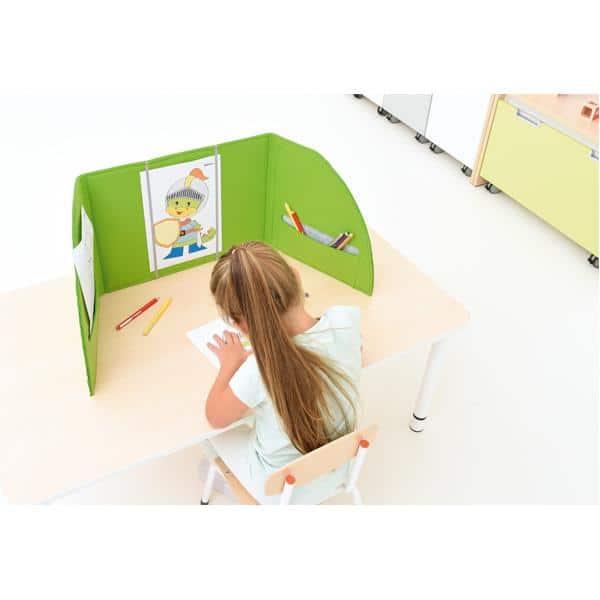 Akustik-Tischpaneel - grün 4