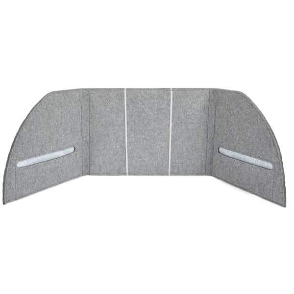Akustik-Tischpaneel - grau 1