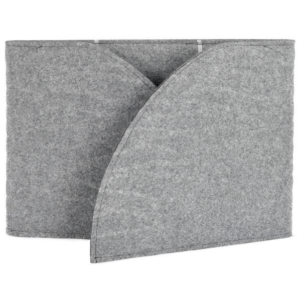 Akustik-Tischpaneel - grau 2