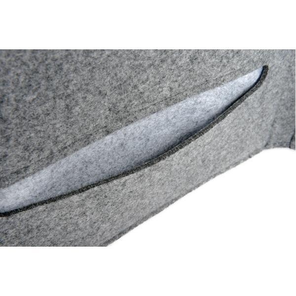 Akustik-Tischpaneel - grau 3