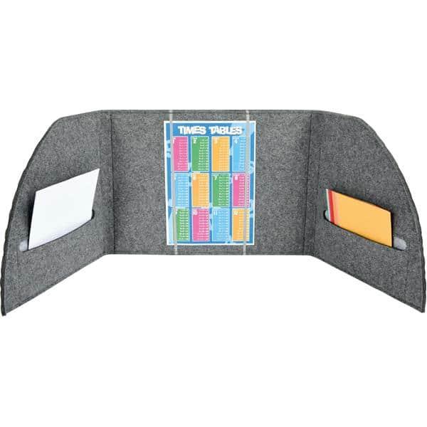 Akustik-Tischpaneel - grau 4
