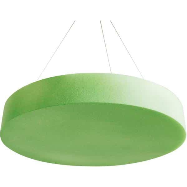 Akustik-Deckenpaneel - Kreis - Stärke: 10,5 cm - moosgrün 1