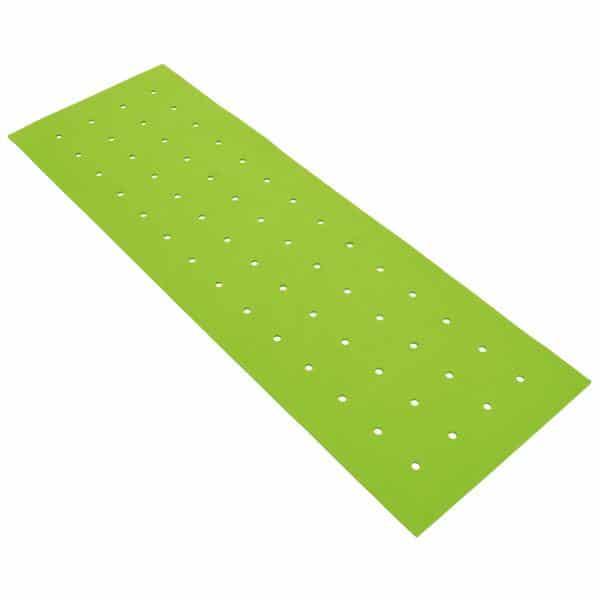Akustik-Hängeelement - durchbrochen - grün 1