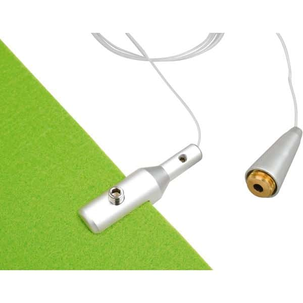 Akustik-Hängeelement - durchbrochen - grün 3