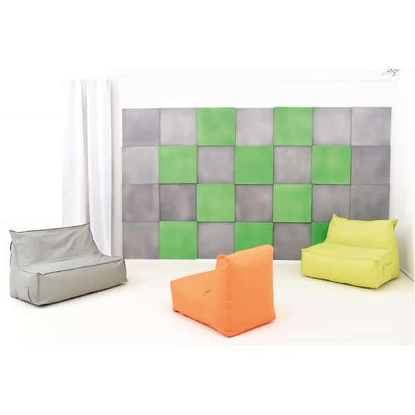 Akustik-Wandpaneel - Quadrat - Stärke: 2 cm - in 6 Farben 7