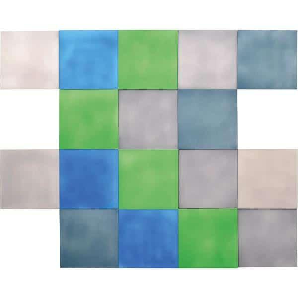 Akustik-Wandpaneel - Quadrat - Stärke: 2 cm - in 6 Farben 10