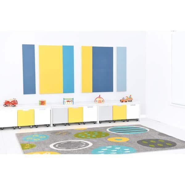 Akustik-Wandpaneele - Ecophon Akusto - 30 x 120 cm - 2 Stück - in 8 Farben 12