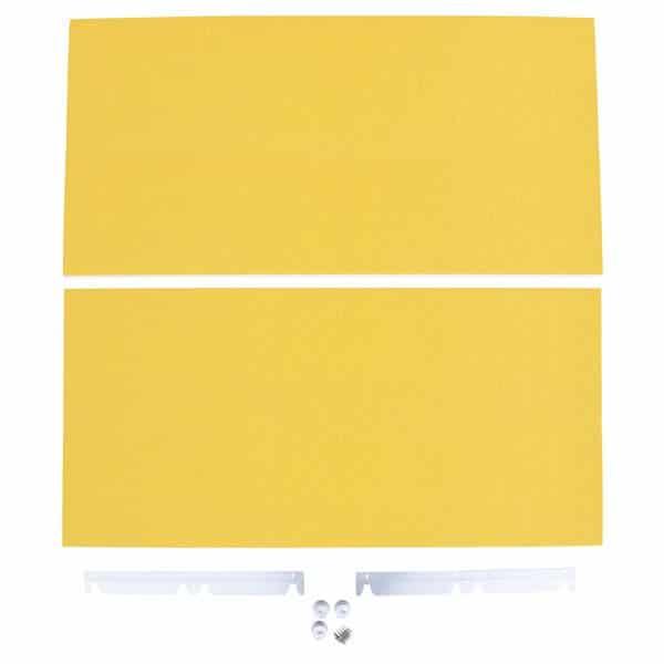 Akustik-Wandpaneele - Ecophon Akusto - 60 x 120 cm - 2 Stück - in 8 Farben 2