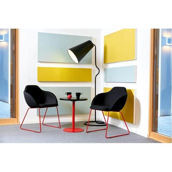 Akustik-Wandpaneele - Ecophon Akusto - 60 x 120 cm - 2 Stück - in 8 Farben 12