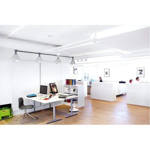 Akustik-Deckenpaneele - Ecophon Master B - 60 x 60 cm - 10 Stück - Direktmontage - weiß 1