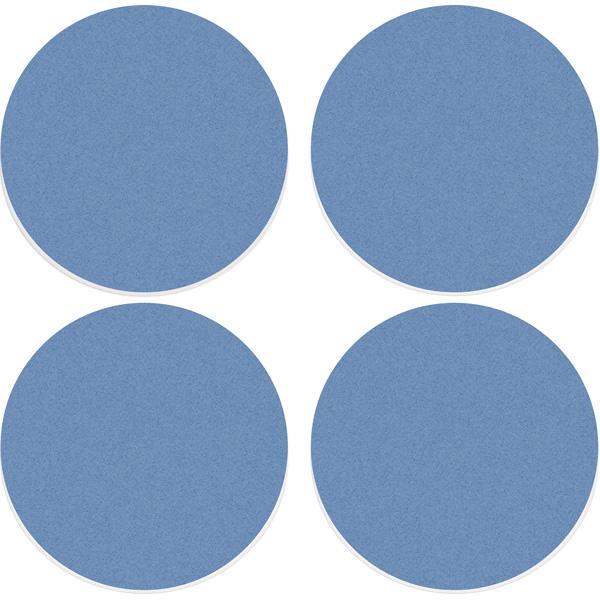 Akustik-Deckenpaneele - Ecophon Solo Circle - 80 cm - 4 Stück mit Seilabhängern - in 6 Farben 1