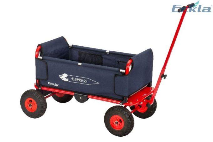 ECKLA Express Bollerwagen (mit Lufträdern) 1