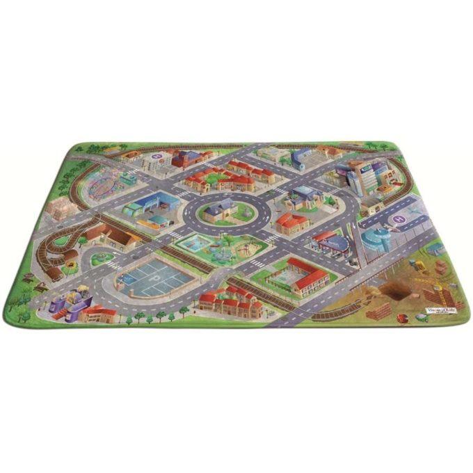 Spielteppich Soft - Stadt 1