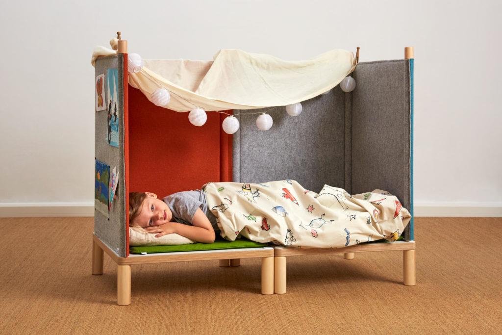 SILA Couch klein - modulare Akustik-Möbel 9