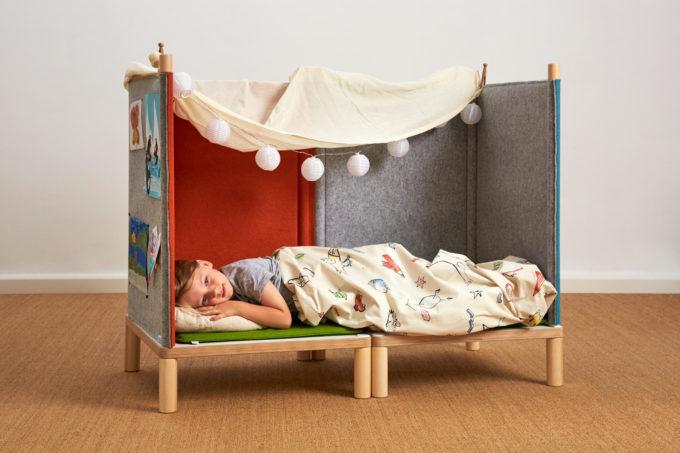 SILA Couch klein - modulare Akustik-Möbel 3