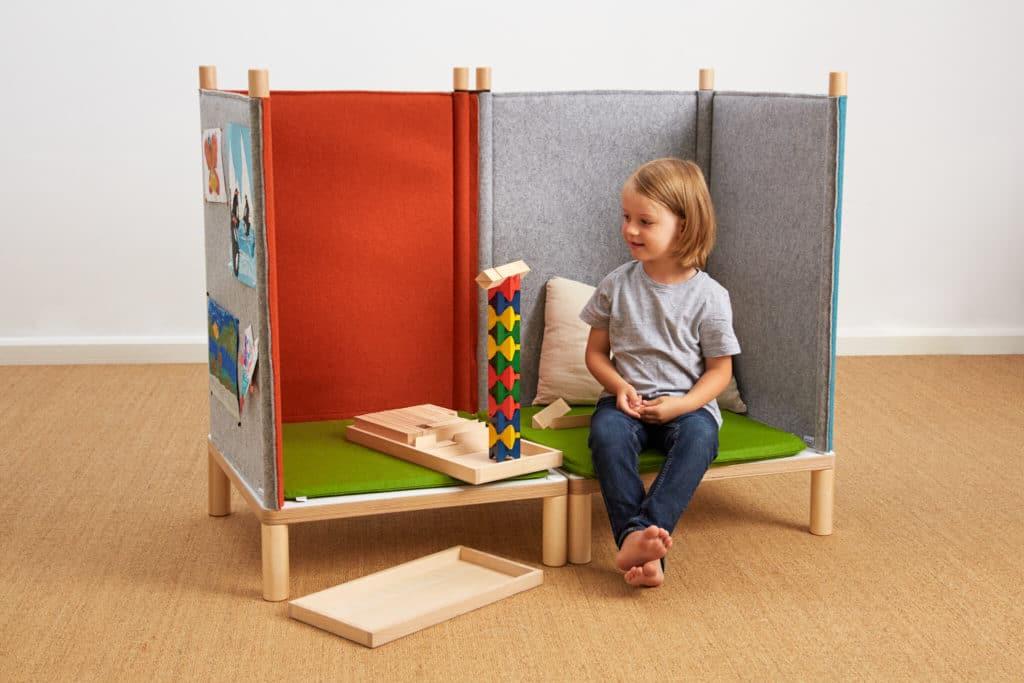 SILA Couch klein - modulare Akustik-Möbel 7