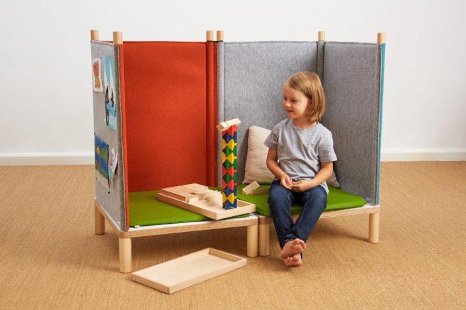 SILA Couch klein - modulare Akustik-Möbel 4