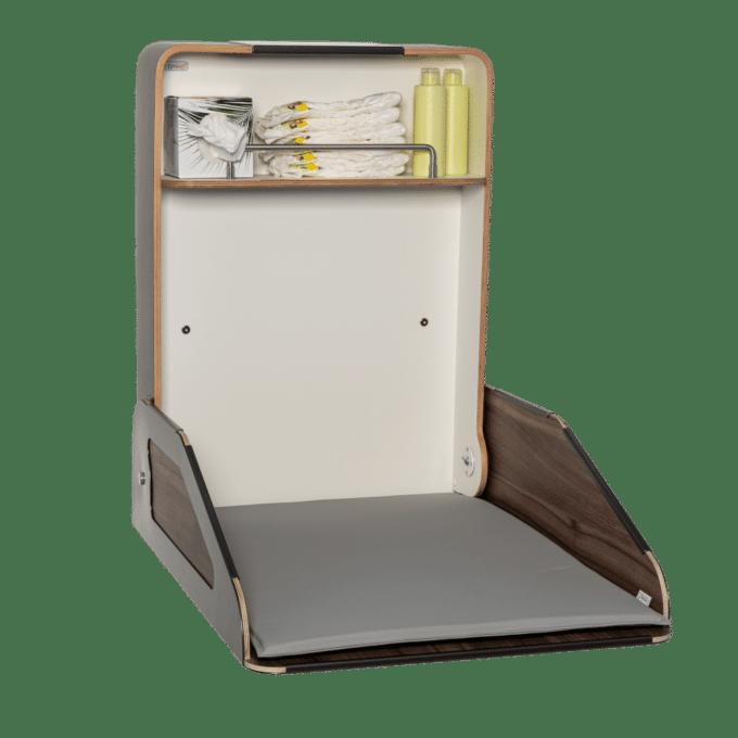timkid Wandwickeltisch QUATTRO | Walnuss 6