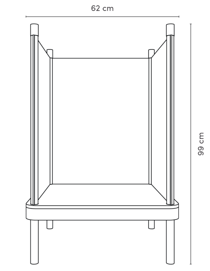SILA Sessel - modulare Akustik-Möbel 6