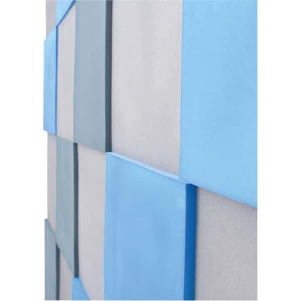 Akustik-Wandpaneele-Set - Quadrate - blau/marengo/taubenblau 3