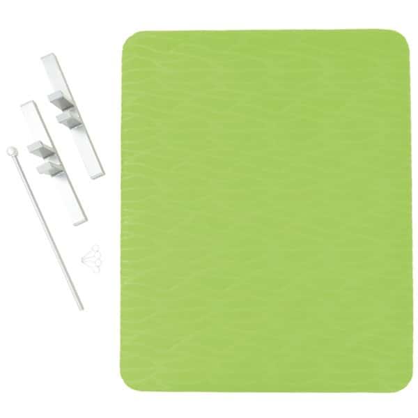 Akustik-Trennwand - Höhe: 100 cm - grün 2
